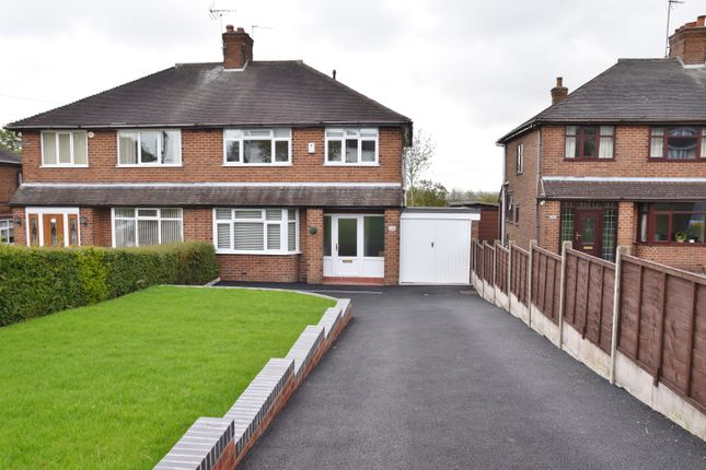 3 bed semi-detached house for sale in Sandon Road, Meir Heath, Stoke-On-Trent ST3