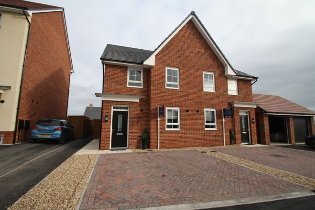 Thumbnail Semi-detached house to rent in Malbank Waters, Nantwich