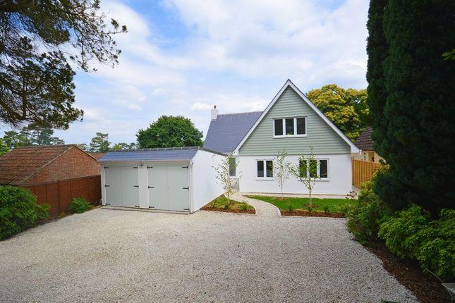 Thumbnail Detached house for sale in Seymour Road, Headley Down, Bordon
