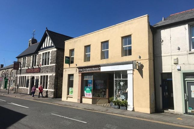 Retail premises to let in High Street, Cowbridge
