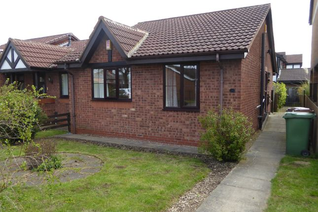 Thumbnail Terraced bungalow to rent in Holme Field, Ossett