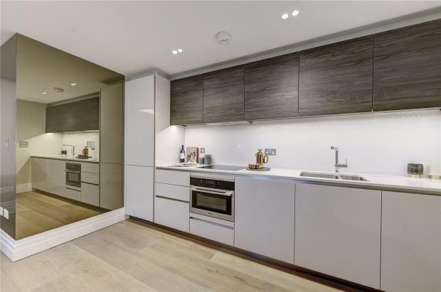 Kitchen of Kensington Gardens Square, Bayswater W2
