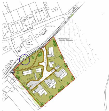Thumbnail Land for sale in Eastgate, Scotton, Gainsborough