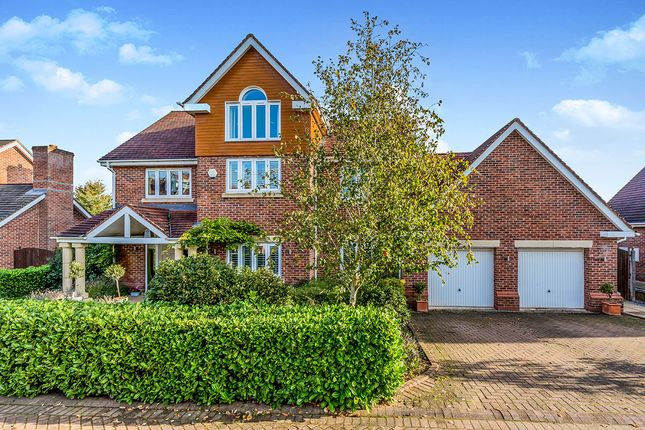 Detached house for sale in Hampstead Drive, Weston, Cheshire
