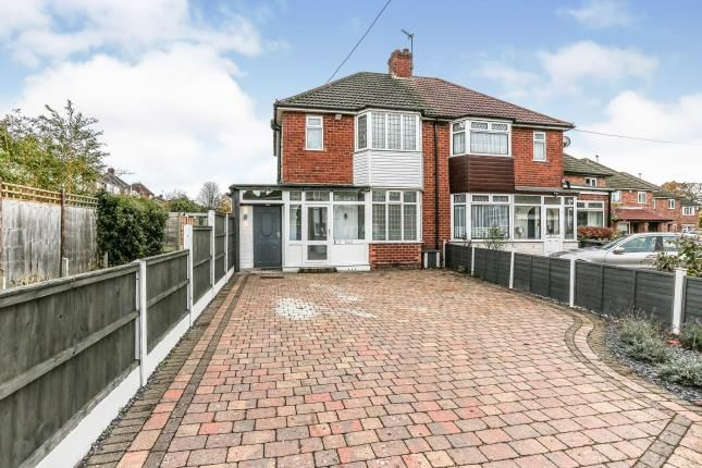 Thumbnail Semi-detached house for sale in Neville Road, Shirley, Solihull, West Midlands