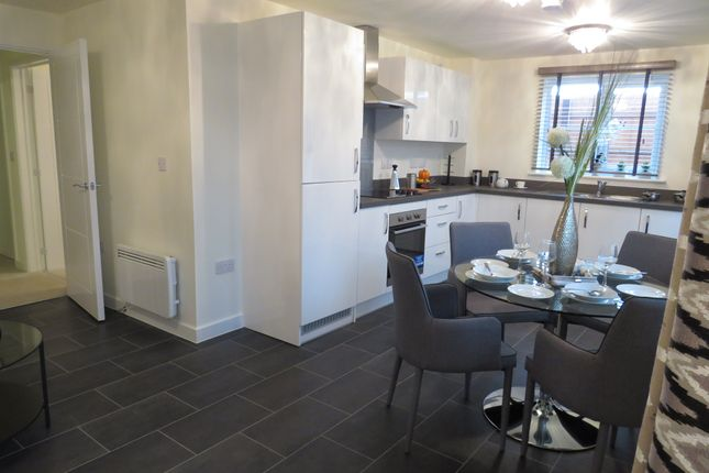 Thumbnail Flat for sale in The Apartments At Weavers Meadow, Great Cornard, Sudbury