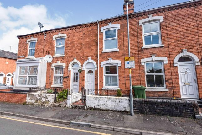 2 bed terraced house to rent in Lowell Street, Worcester WR1