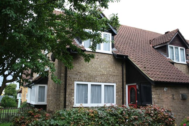 Thumbnail End terrace house for sale in Mahon Close, Enfield