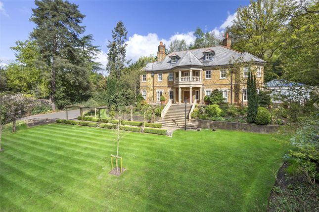 Thumbnail 6 bedroom detached house for sale in Woodlands Road West, Wentworth Estate, Virginia Water, Surrey