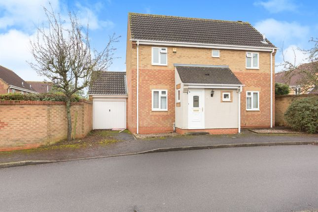 Thumbnail Detached house for sale in Borkum Close, Saxon Fields, Andover