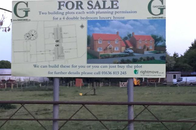Thumbnail Land for sale in Chapel Lane, Spalford, Newark