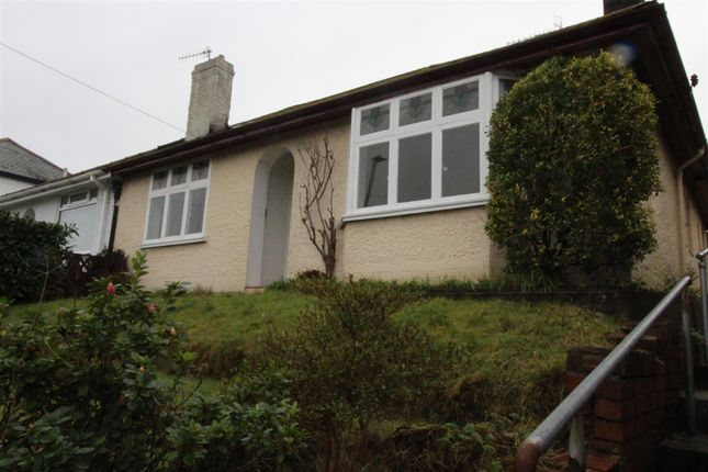 Thumbnail Semi-detached bungalow for sale in St. Martins Road, Caerphilly