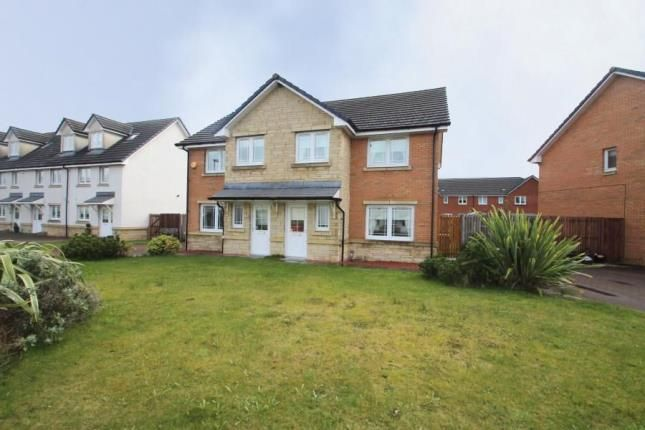 Thumbnail Semi-detached house for sale in Cranston Avenue, Airdrie, North Lanarkshire