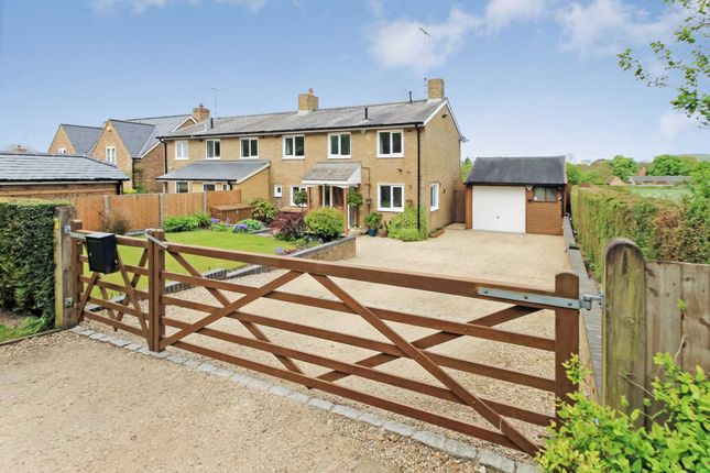Thumbnail Semi-detached house for sale in Church Road, Pitstone, Leighton Buzzard