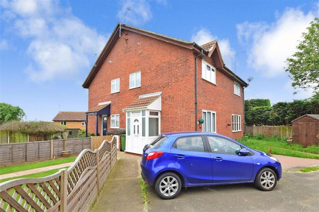Thumbnail Semi-detached house for sale in Broad Oaks, Wickford, Essex