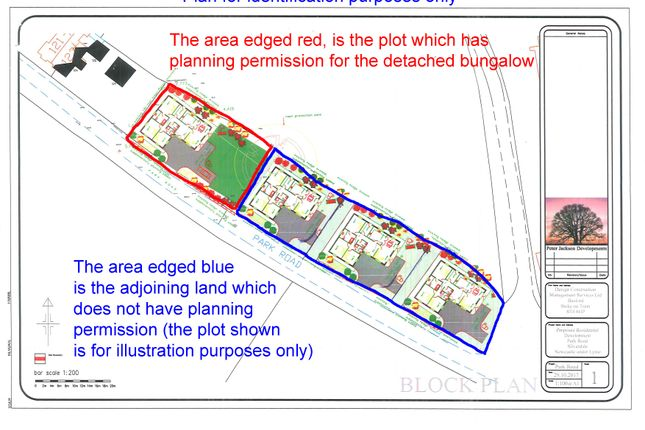 Thumbnail Land for sale in Building Plot Including Adjoining Land, Park Road, Silverdale