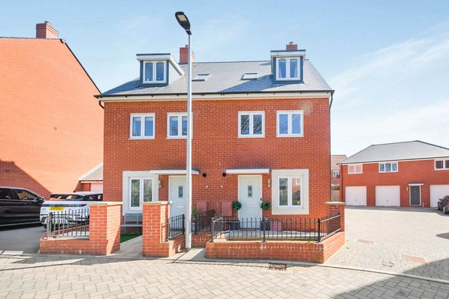 Thumbnail Semi-detached house for sale in Sunflower Road, Emersons Green, Bristol