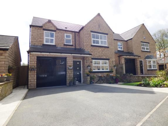Thumbnail Detached house for sale in Compton Grove, Buxton, Derbyshire