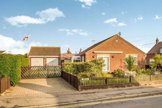 Thumbnail Detached bungalow for sale in Coast Road, Walcott, Norwich