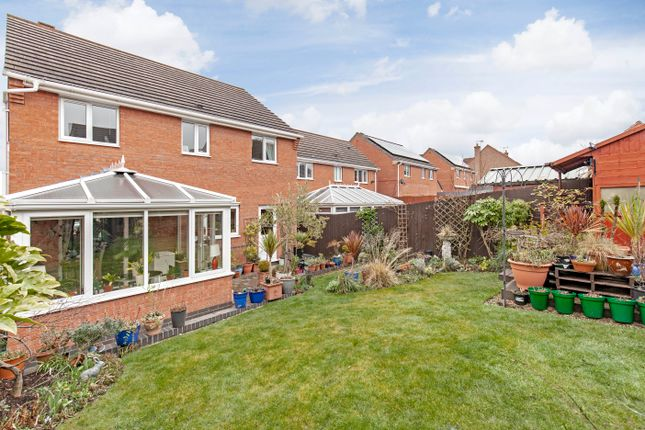 Rear Garden of Seagrave Drive, Hasland, Chesterfield S41