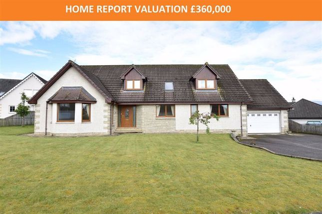 Thumbnail Detached house for sale in Beinn View, Conon Bridge, Ross-Shire