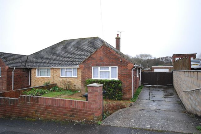 Thumbnail Semi-detached bungalow to rent in Dalby Crescent, Newbury