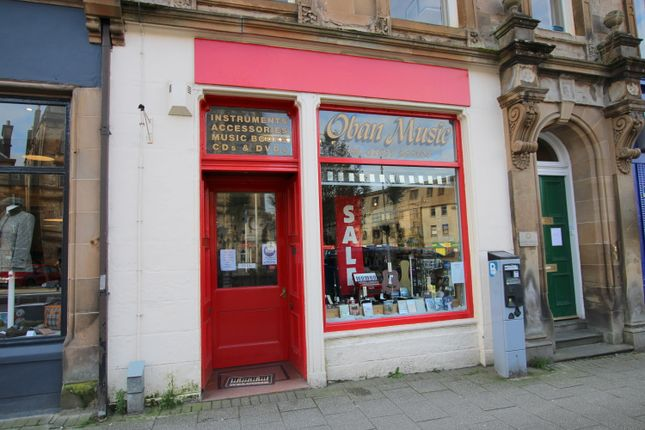 Thumbnail Retail premises for sale in 20 Argyll Square, Oban