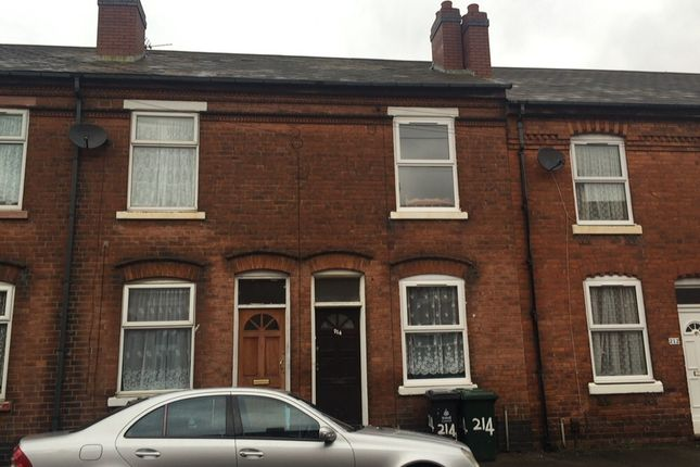 Thumbnail Terraced house to rent in Prince Street, Walsall, West Midlands
