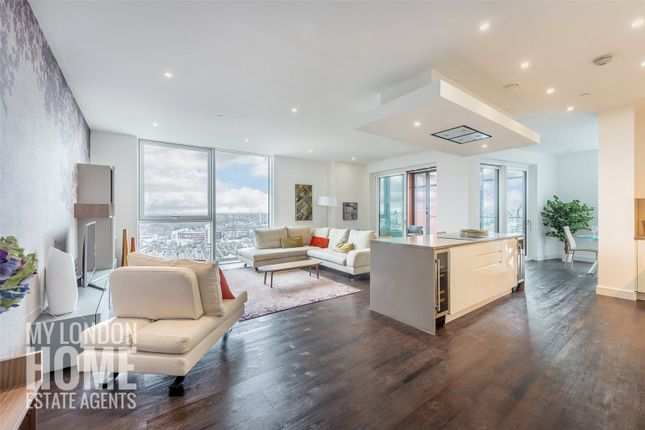 Thumbnail Flat for sale in Pinto Tower, Nine Elms Point, 4 Hebden Place