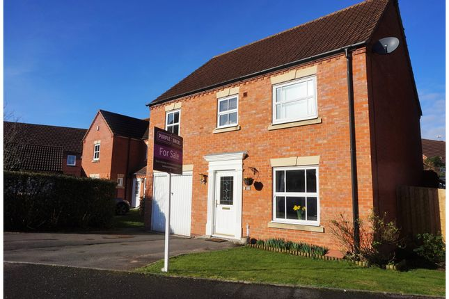 Thumbnail Detached house for sale in Turner Close, Warwick
