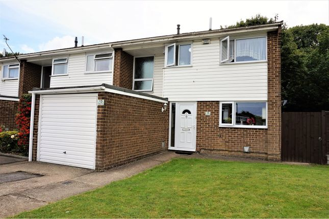 Thumbnail End terrace house for sale in Sedley Close, Gillingham