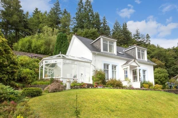 Thumbnail Detached house for sale in Springbank, Tighnabruaich, Argyll And Bute