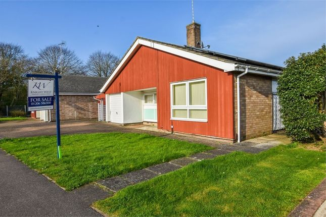 Thumbnail Detached bungalow for sale in Rambler Close, Stanway, Colchester, Essex