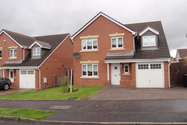 Thumbnail Detached house to rent in Linkwood Road, Airdrie