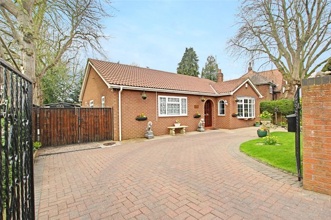Thumbnail Bungalow for sale in Station Lane, Hedon, Hull, East Yorkshire
