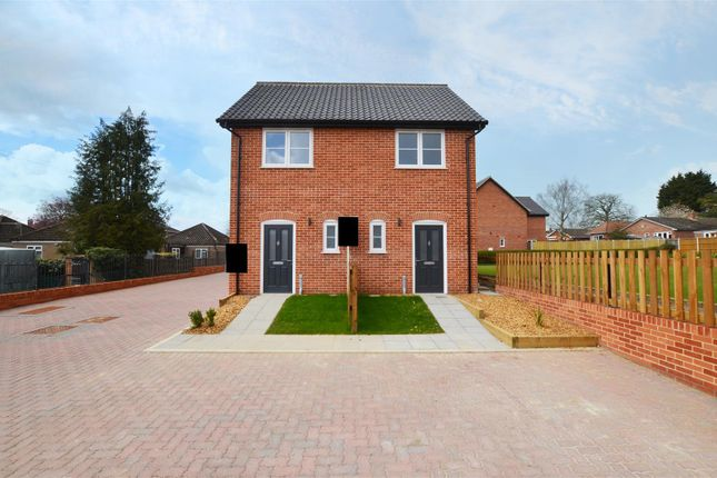 2 bed semi-detached house for sale in School Road, Reepham, Norwich NR10