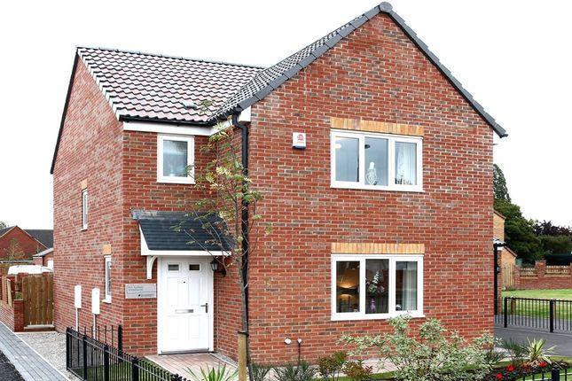 "Thumbnail Detached house for sale in ""The Hatfield"" at Church Hill Terrace, Church Hill, Sherburn In Elmet, Leeds"
