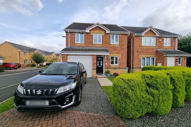 Thumbnail Detached house for sale in St. Ives Gardens, Consett