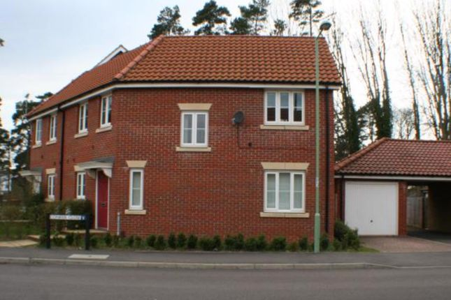 3 bed terraced house to rent in 1 Conifer Close, Mildenhall, Bury St. Edmunds IP28