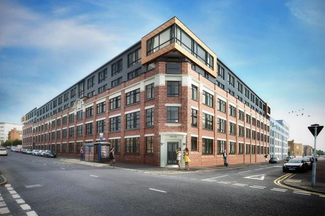 Thumbnail Flat to rent in Drapery House, Fabrick Square, Birmingham