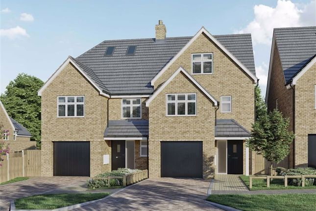 Thumbnail Semi-detached house for sale in Malvern Place, Stevenage, Hertfordshire
