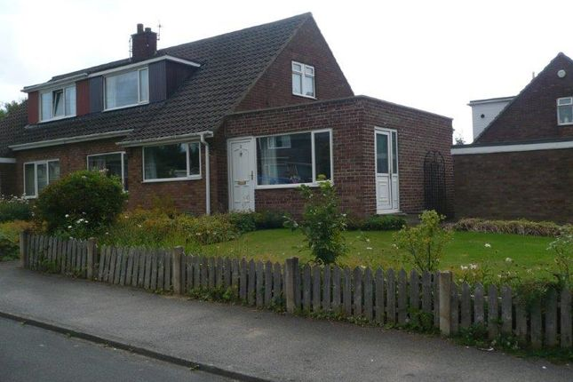 Thumbnail Semi-detached bungalow to rent in Darton Hall Close, Barnsley