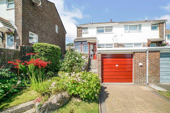 Thumbnail Semi-detached house for sale in Llanberis Close, Tonteg, Pontypridd