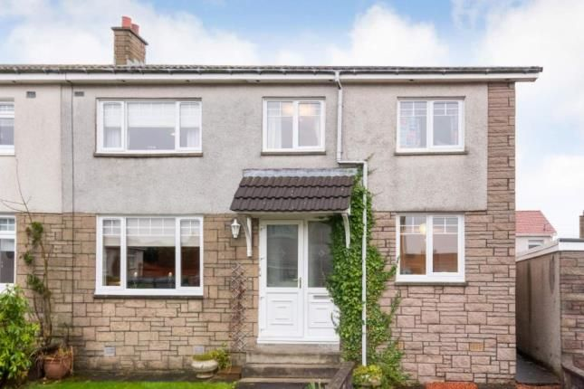 Thumbnail Semi-detached house for sale in Finlayson Quadrant, Airdrie, North Lanarkshire