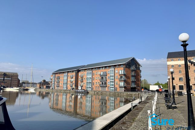 Thumbnail Flat to rent in Severn Road, The Docks, Gloucester