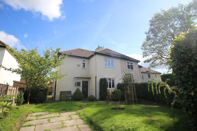 Thumbnail Semi-detached house to rent in The Drive, Didsbury, Manchester