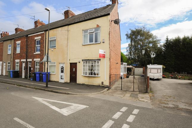 Thumbnail End terrace house for sale in Pottery Lane East, Chesterfield