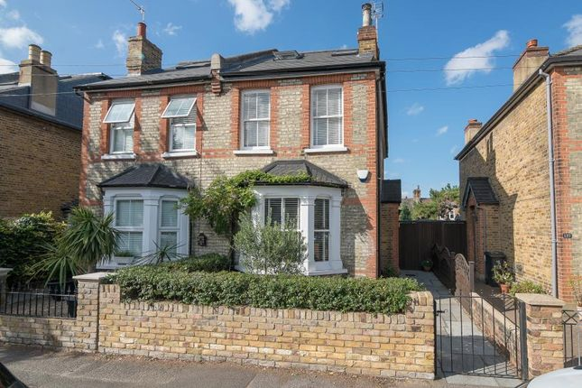 Thumbnail Semi-detached house for sale in Clifton Road, Kingston Upon Thames