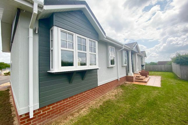 Thumbnail Mobile/park home for sale in Plowage Lane, West Camel, Yeovil, Somerset