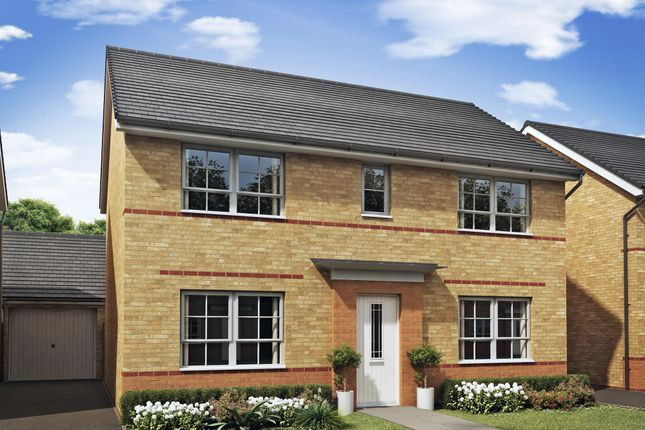 "Thumbnail Detached house for sale in ""Thornton"" at Morganstown, Cardiff"